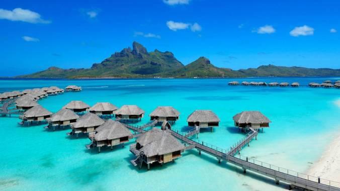 Bora Bora - best islands in the world for honeymoon