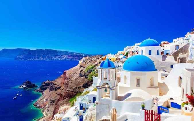 Santorini - the best islands in the world for honeymoon